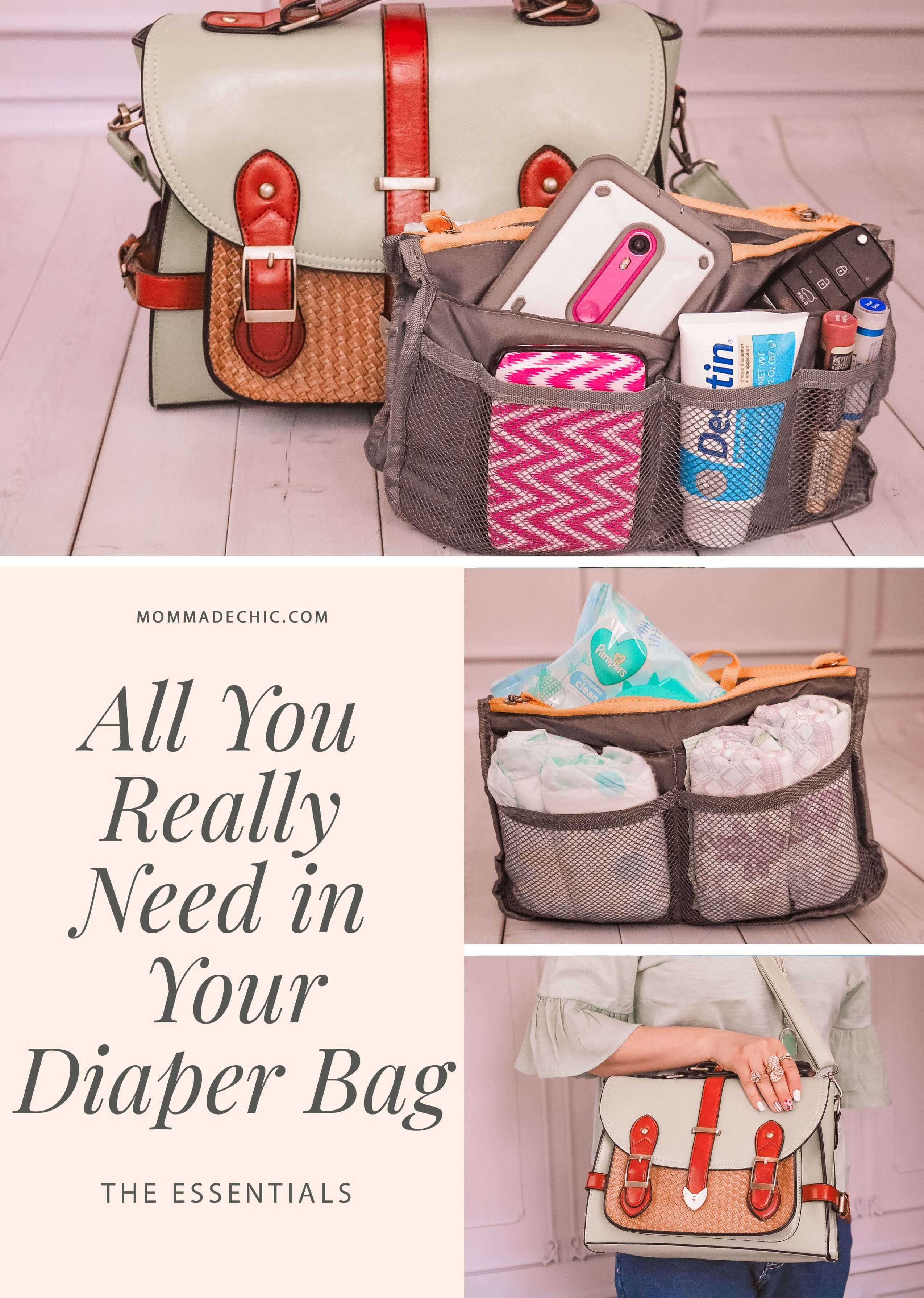 All You Really Need in Your Diaper Bag