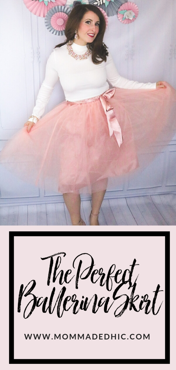 Blush Pink Ballerina Skirt