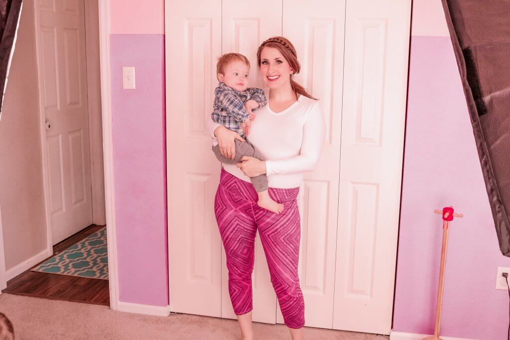 Chic Mom Workout Outfit