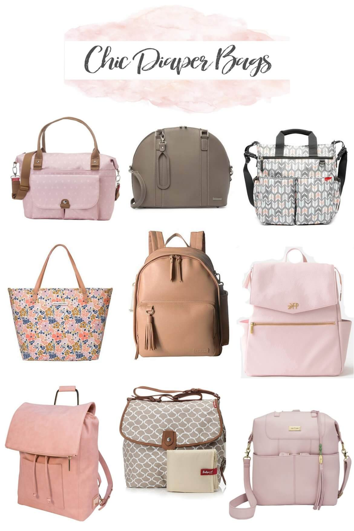 chic diaper bags for the stylish new mom