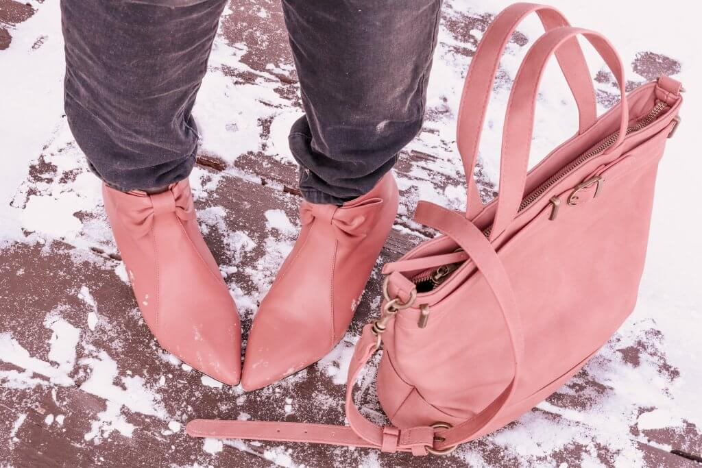 dusty rose boots blush pink boots