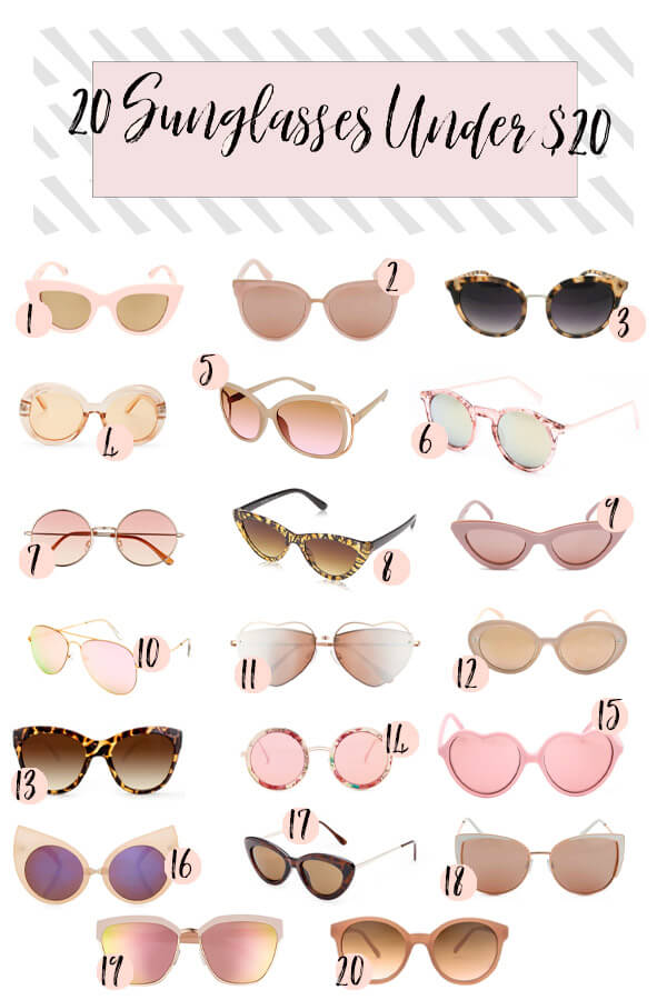 Chic and Cheap Sunglasses for Women