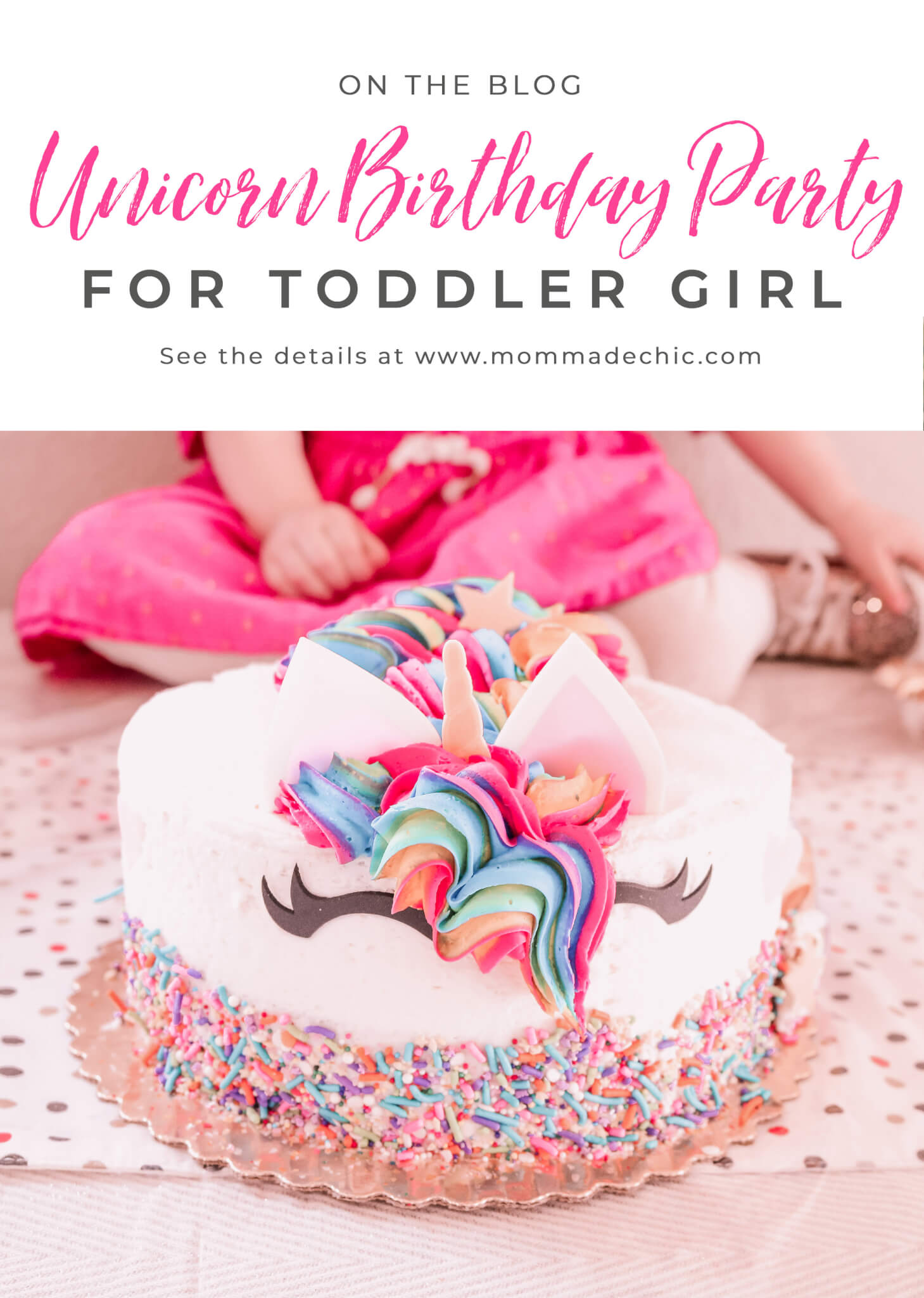 Unicorn Birthday Party For Toddler Girl