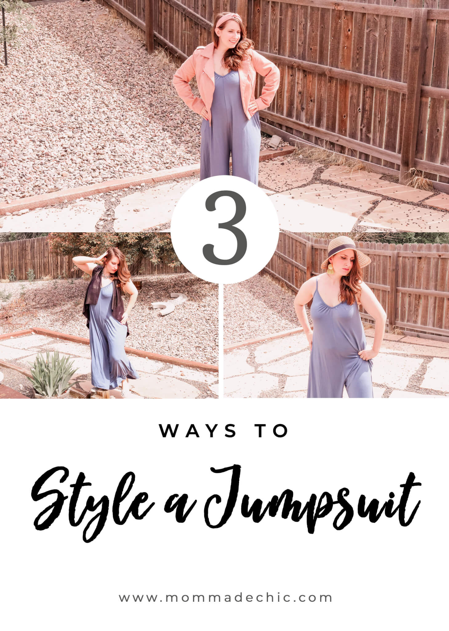 Jumpsuit Styled 3 Ways