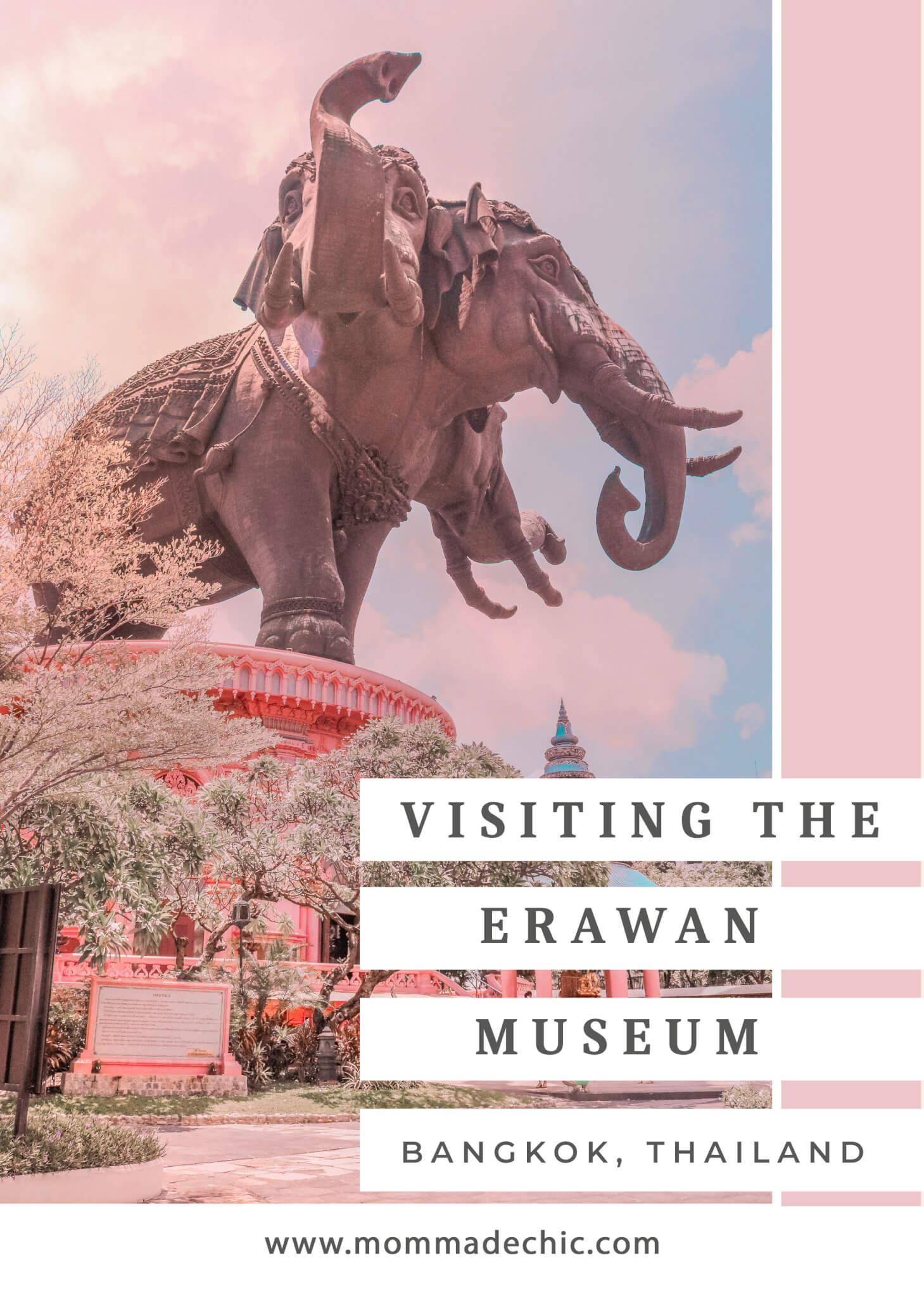 Visiting The Erawan Museum Bangkok Thailand