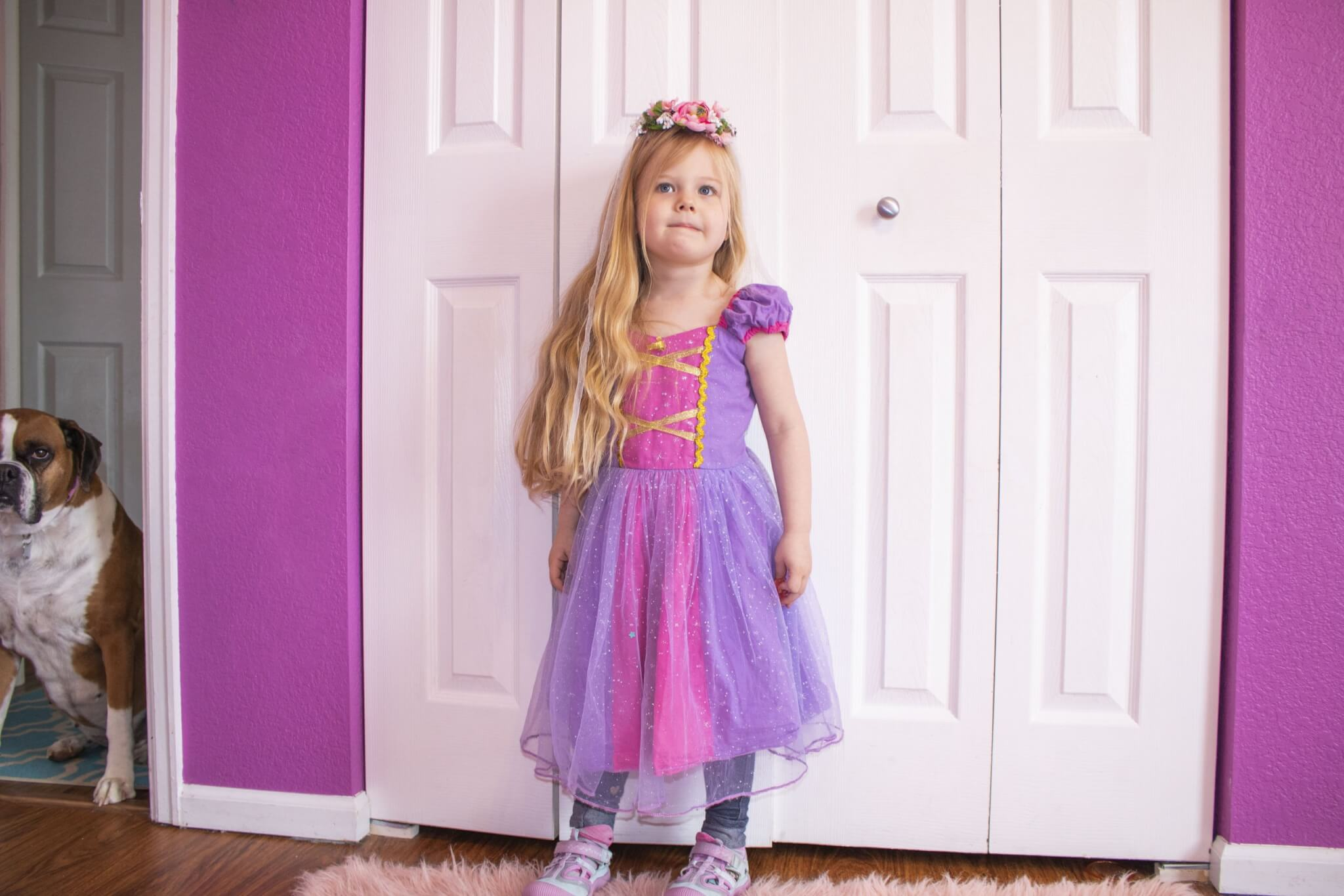 Toddler Rapunzel Dress Up