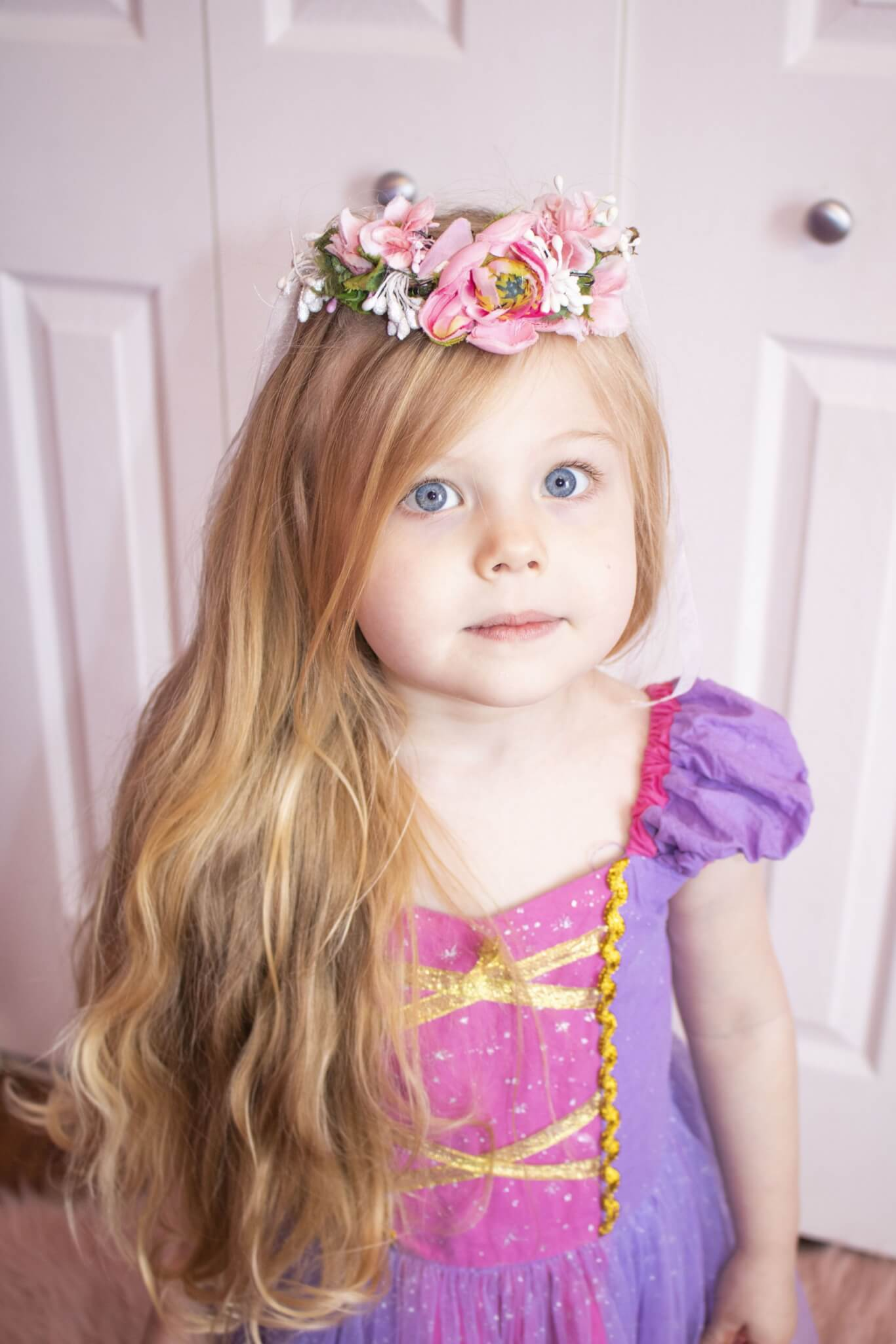 Toddler Girl Rapunzel