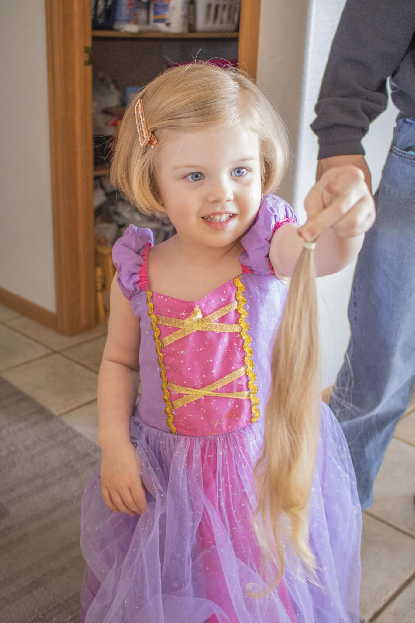 Rapunzel's First Haircut