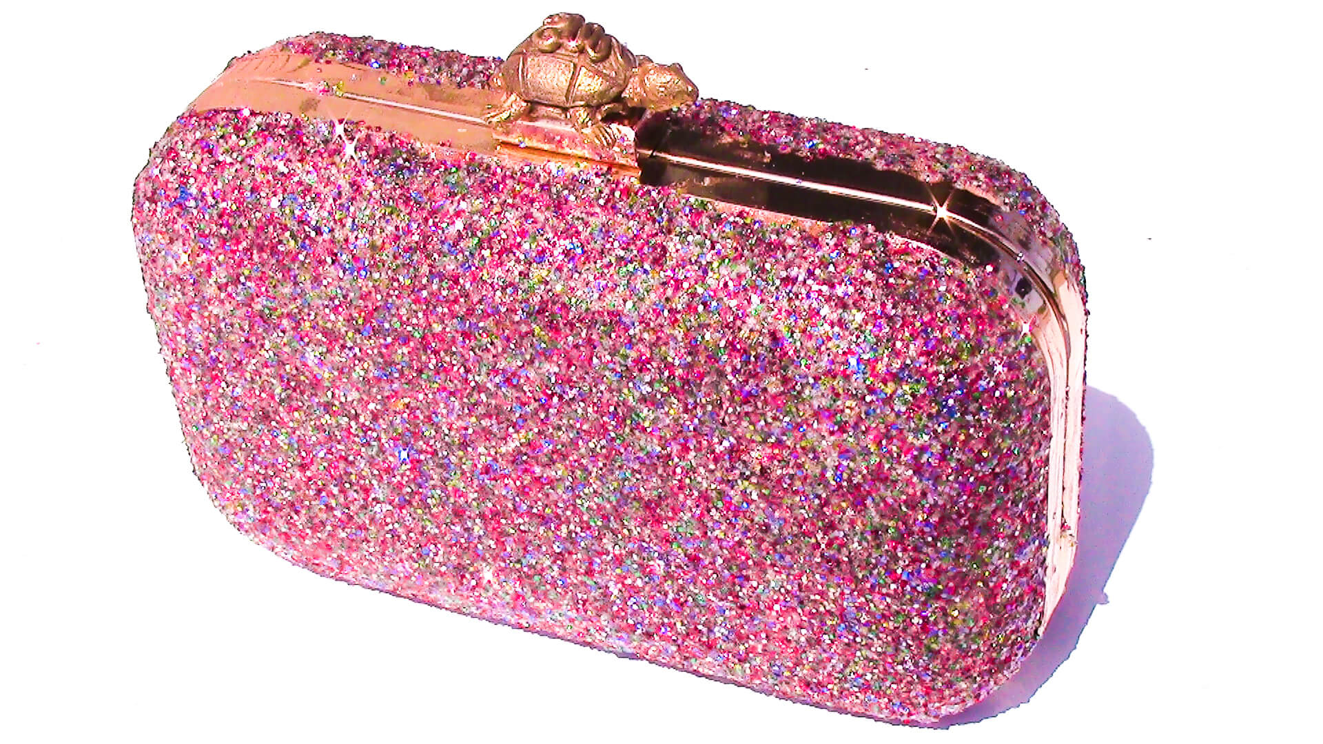 Kate Spade Inspired DIY Glitter Purse